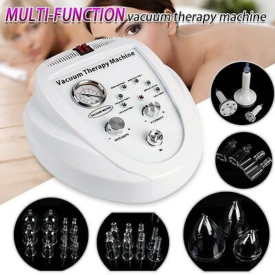 Top Vacuum Pump Breast Enhance Body Massage Shaping Therapy Beauty Machine