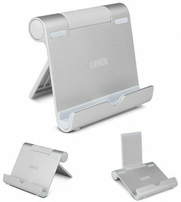 Anker Aluminum Multi-Angle Universal Phone and Tablet Stand for iPhone Samsung
