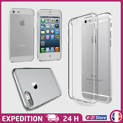 Coque Housse Etui Protection Tpu Silicone Pour Iphone Au Choix 5/6/7/8/X/Xr/Xmax