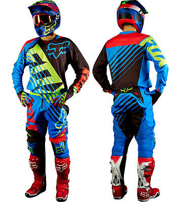 Motocross MX Enduro Kit Jersey & Pants / Maglia e Pantaloni FOX 360 Savant