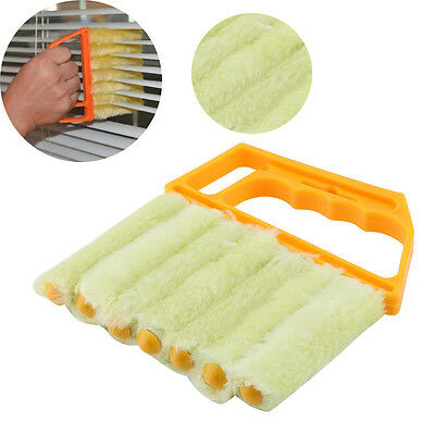 Microfibre Washable Venetian Blind Brush Duster Cleaner Window Air Conditioner