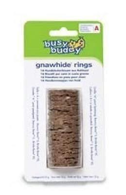 Busy Buddy - Gnawhide Rings- Friandise Pour Bristel Et