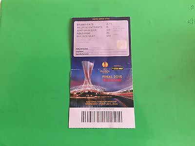 Ticket Dnipro - Sevilla Final Europa League 2015 Warsaw
