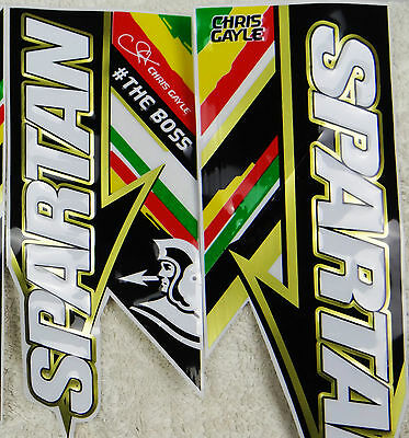 [3D/embossed] Latest Model Boss Edition Cricket Bat Stickers *new!*