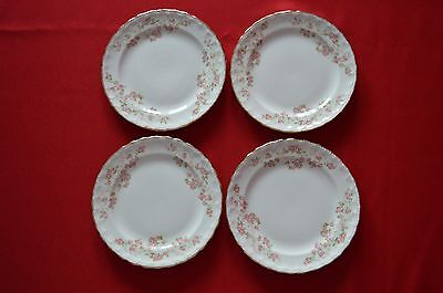 Pope Gosser China Florence Set of 4 Bread & Butter Plates Set 2