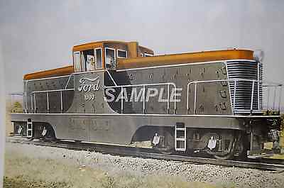 Ford Motor Co. Switcher Print 11 x 17