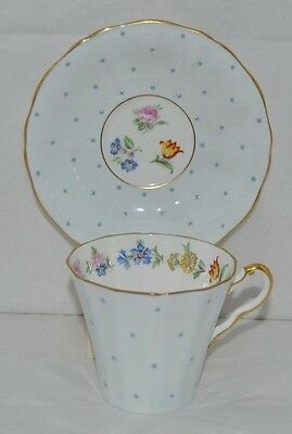 Very Beautiful And Very Dainty Adderley Fine Bone China Tea Cup And Saucer