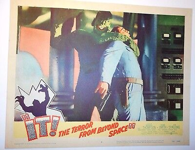It! Terror From Beyond Space lobby card Paul Blaisdell horror sci-fi AIP monster