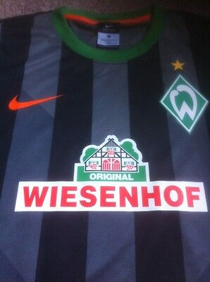 Werder Bremen Authentic Nike 2014 Football Shirt Jersey - Germany - Size XL