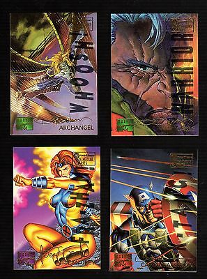 1995 Marvel Masterpieces Parallel Signature EMOTION single (Pick any One)