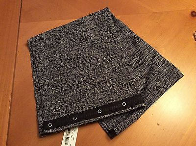 NWT Ivivva by Lululemon Village Chill Scarf Gray/Black PEPE Vinsaya-SOLD OUT