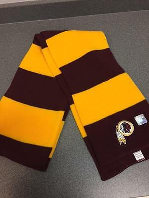 Washington Redskins Winter Scarf Official Season Ticket Holder Maroon Gold 2016