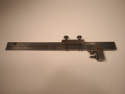 """Starrett No. 289 And 299 Rule And Square Clamps & Brown & Sharpe 12"""" Ruler #4"""