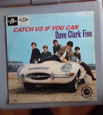Dave Clark Five - Catch Us If You Can - Lp Columbia Cpsq  508 Italy 1966 Unplaye