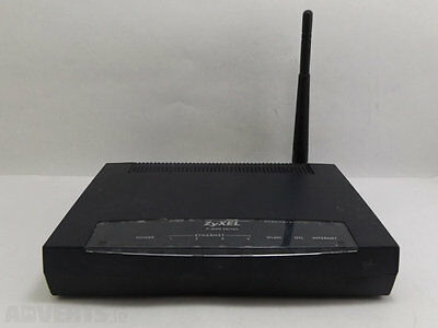 ZyXEL 802.11g Wireless ADSL2+ 4-port Gateway Router P660HWD1  ROUTER ONLY NO PSU