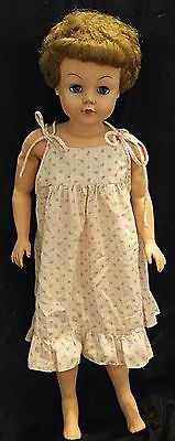 """Vintage Deluxe Reading ?  Rubber Doll 29""""   1950's"""