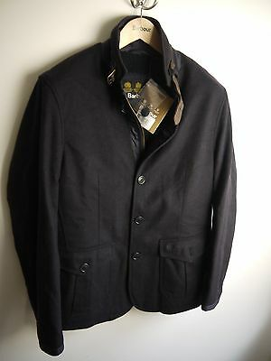 Barbour Men's Barkston Jacket, Navy Blue, Medium, New With Tags