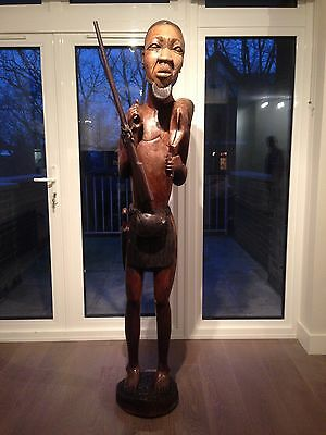 Antique African Tribal Statue