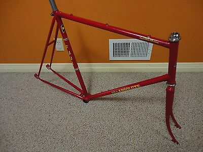 Vintage Fuji ABSOLUTE Frame Set with Fork, Headset and Seat post