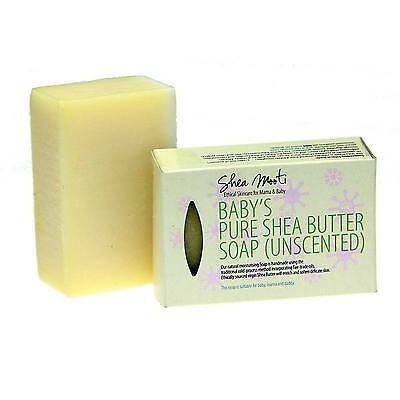 Shea Mooti BABY'S PURE SHEA BUTTER SOAP (Unscented)100g