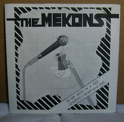 The Mekons - Never Been In A Riot - Debut 7 Inch - Fast Records - 1978