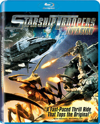 Starship Troopers: Invasion  [Includes Digital Copy] [Ultr (2012, Blu (REGION A)