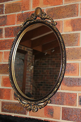 Vintage Gold  Edge Mirror  Shabby French Ornate Mirror