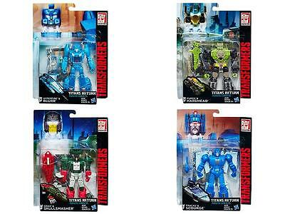 Transformers Generations Deluxe Titans Return Wave 01 - Set of 4 UNOPENED