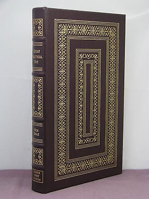 1st,signed by author,Great Political Wit by former senator Bob Dole,Easton Press