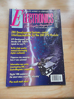 Electronics The Maplin Magazine #97 Jan 1996 Space Computers Internet Tv Video