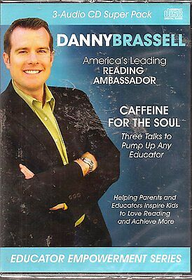 Caffeine for the Soul: Three Talks to Pump Up Any Educator (3 CD Set) NEW