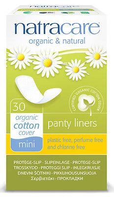 Brief liner Panty liners Mini - natracare - 30 Pc