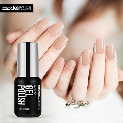 Modelones Sheer nude Colors Soak Off UV/LED Gel Nail Art Polish 7ml