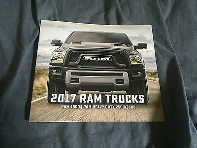 2017 Dodge Ram Pickups Full Line Color Catalog Brochure Prospekt