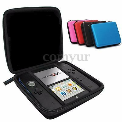 EVA Protective Storage Case Cover Bag Holder With Carry Handle For Nintendo 2DS