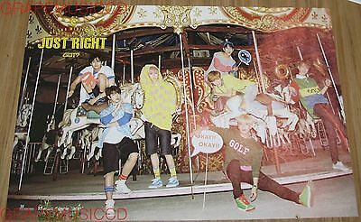 GOT7 GOT 7 Just Right K-POP OFFICIAL 2 POSTER SET NEW