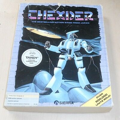 Thexder game for Tandy TRS-80 Colour Computer 3 128K Coco Color Computer