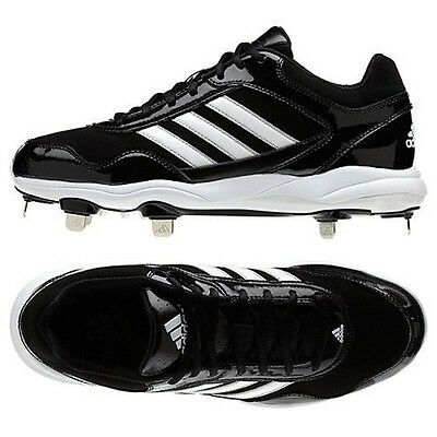 Adidas Men's Excelsior Pro Metal Low Baseball Cleats Black/White G59119