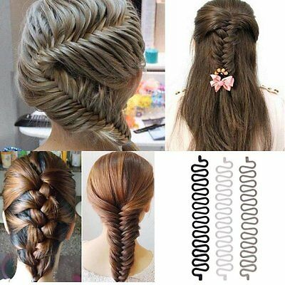 French Hair Braiding Tool Roller Hook Magic Hair Twist Styling Bun Maker DIY Hot