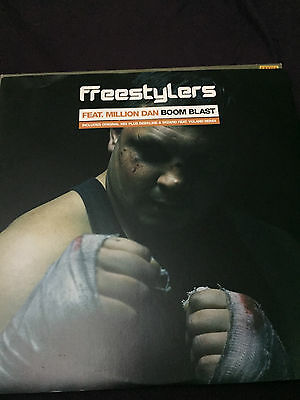 """Freestylers - Boom Blast (Against The Grain ATG010) 12"""" VG cond."""