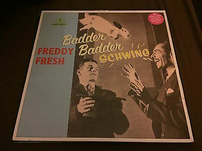 Freddy Fresh Featuring Fatboy Slim - Badder Badder Schwing (Eye Q (UK) EYEUK040