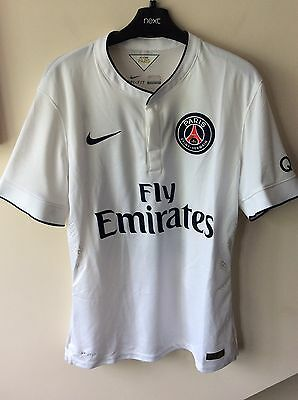 Mens Nike Official PSG Match Day Football Shirt Uk Size Large With Ibrahimovic