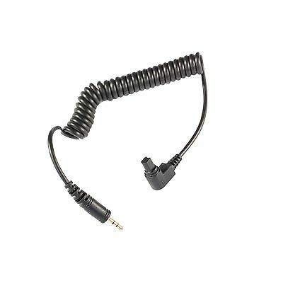 Wireless Shutter Cable Canon 2.5mm to C3 connector type for H430 H550 RF603 etc
