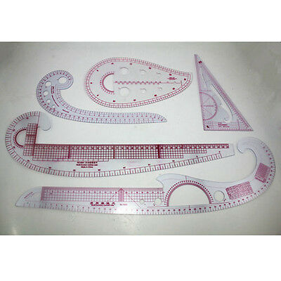 5 style Sew French Curve Metric Ruler Measure for Sewing Dressmaking Tailor tool