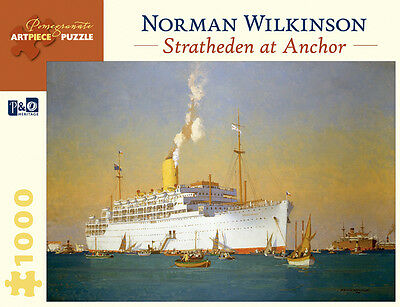 Pomegranate Jigsaw - Stratheden at Anchor by Wilkinson (1000 pieces)