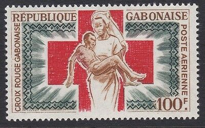 Gabon 1965 Air Red Cross complete mint issue sg237