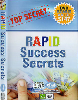 Ebay Selling Guide Bidding Buzz Ebook Rapid Success Secrets on Disc value $197