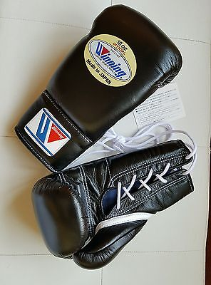winning lace-up boxing gloves MS-300