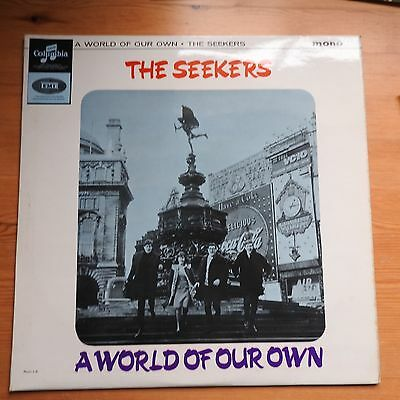 The Seekers - A World of Our Own  LP vinyl Columbia (1965) mono  Ex/Ex