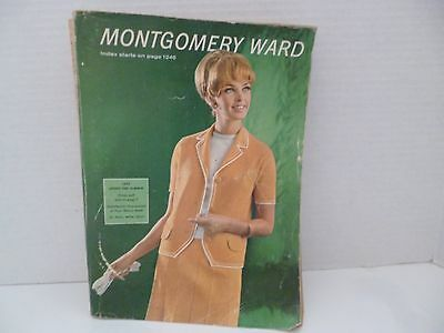 Vintage 1967 Spring and Summer Montgomery Ward Catalog